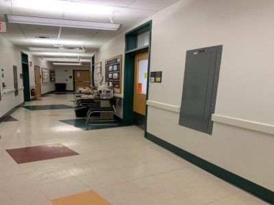 Entrance to the lab