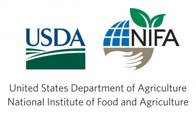 United States Department of Agriculture and the National Institute of Food and Agriculture