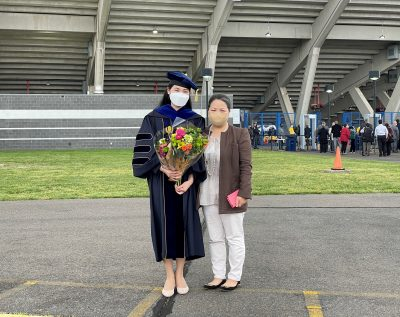 Hyunju Kang's Commencement on May 8, 2022